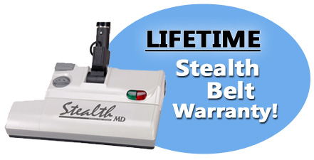 Lifetime Warranty for Stealth Belts